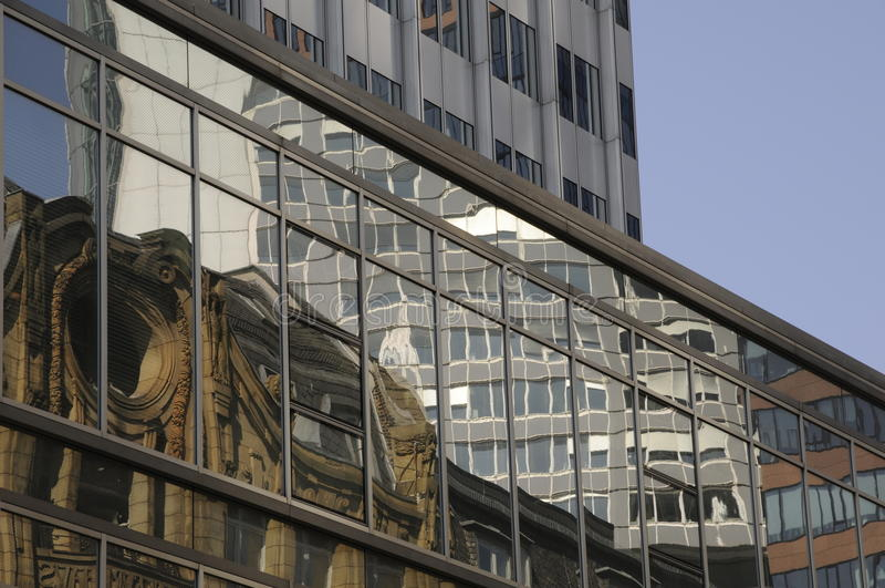 Edifícios em Francoforte imagens de stock royalty free