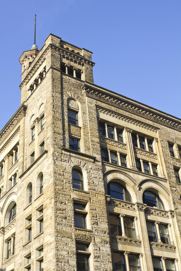 Edifícios históricos em Louisville, Kentucky imagem de stock royalty free