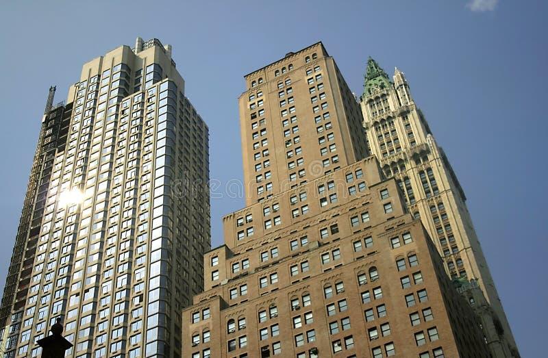 Edifícios históricos em Nyc imagem de stock royalty free