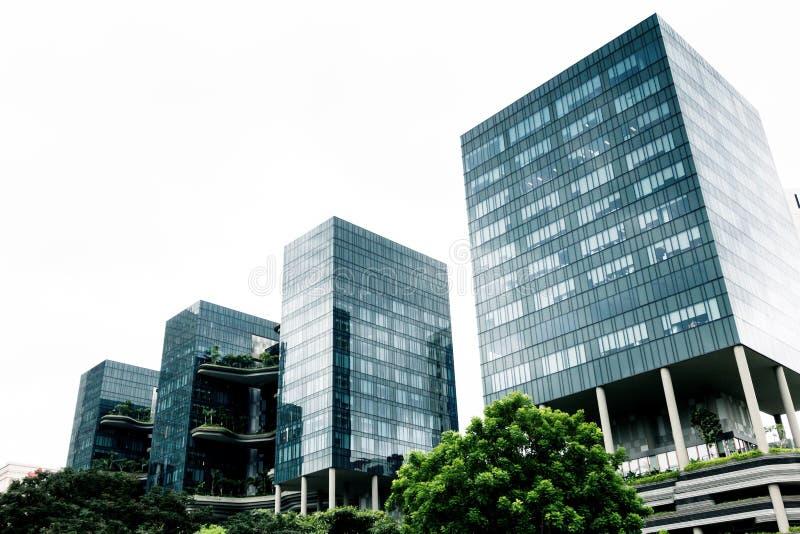 Edifícios modernos imagem de stock royalty free
