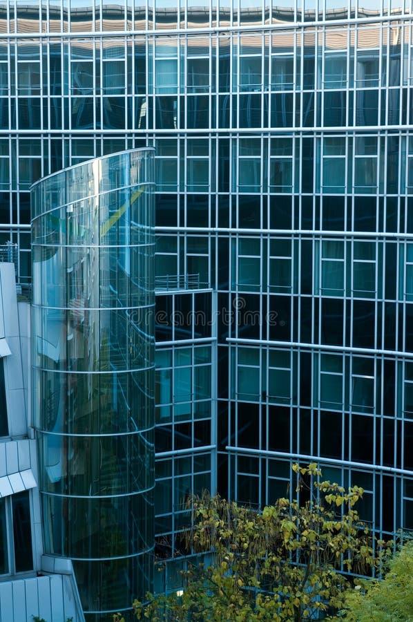 Edifícios modernos em Berlim fotografia de stock royalty free
