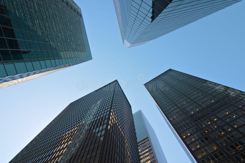 Edifícios modernos em New York foto de stock royalty free