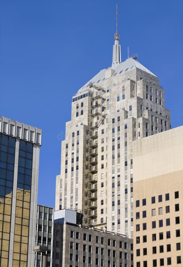 Edifícios no Oklahoma City imagem de stock royalty free