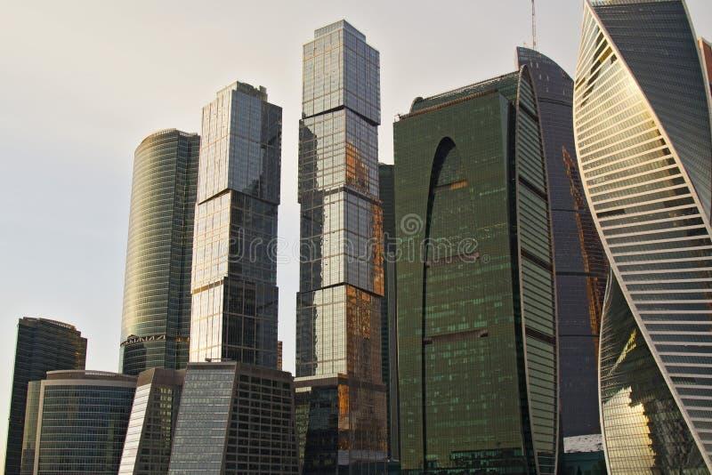 Edifícios para o negócio imagem de stock