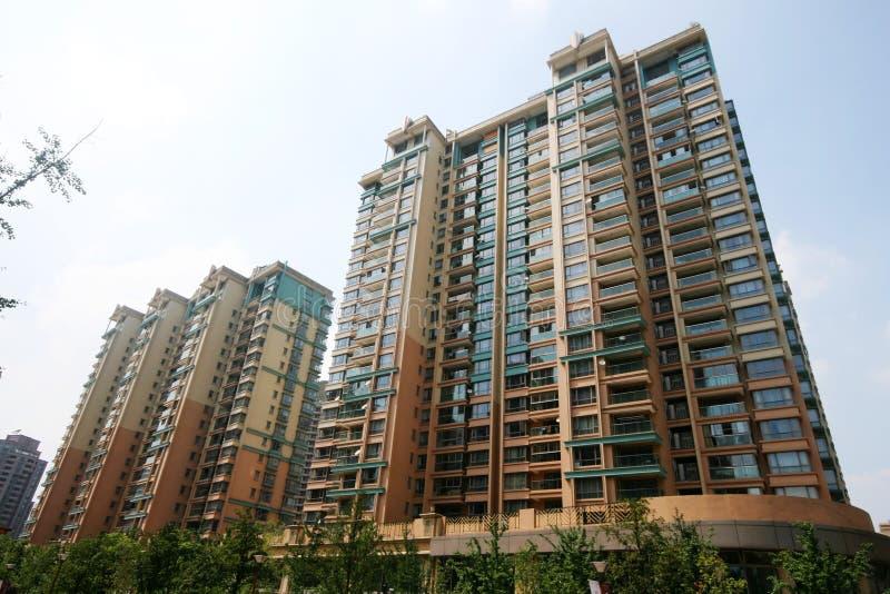 Edifícios residenciais foto de stock royalty free