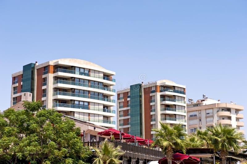 Edifícios residenciais imagem de stock royalty free
