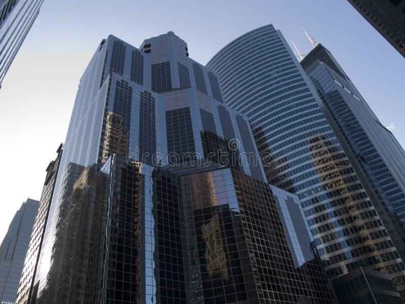 Download Edifici del Chicago fotografia stock. Immagine di grattacieli - 3878470