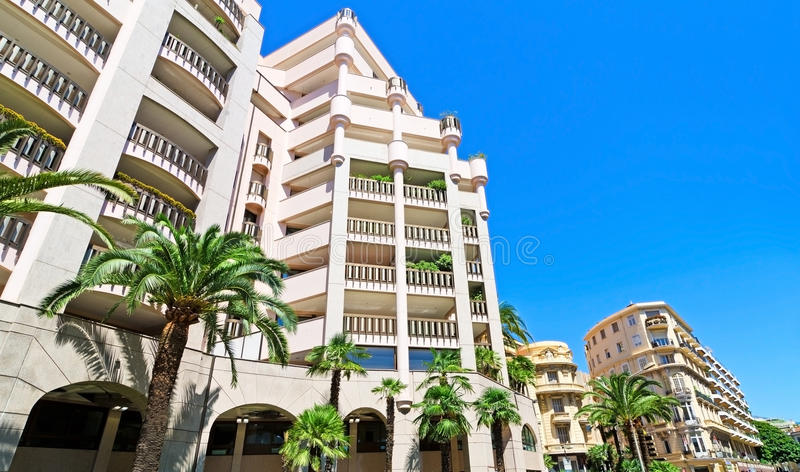 Edifici del Monaco fotografia stock