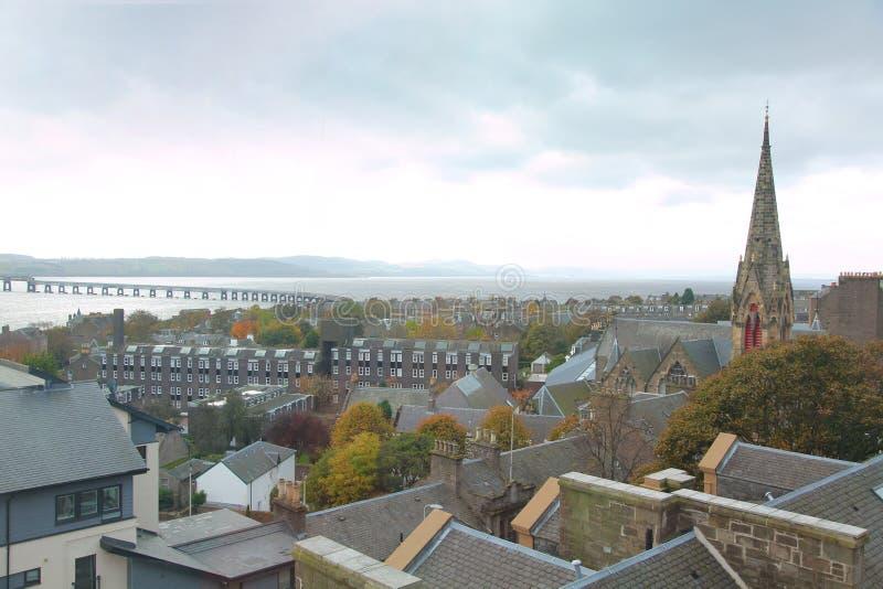 Edifici della Scozia fotografia stock libera da diritti