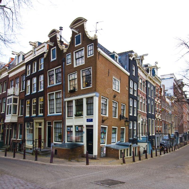 Edifici di Amsterdam immagini stock