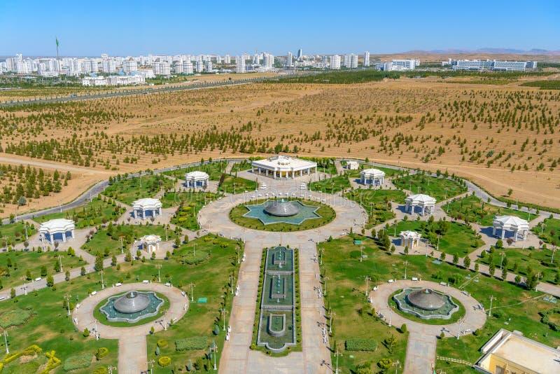 Edifici di Asgabat il Turkmenistan immagini stock