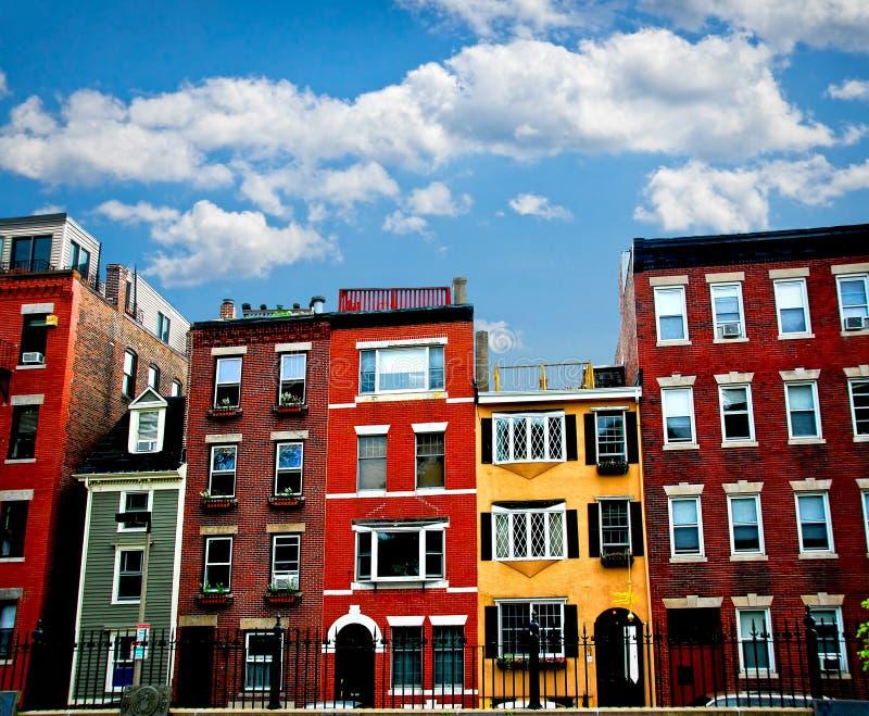 Edifici di Boston fotografia stock libera da diritti