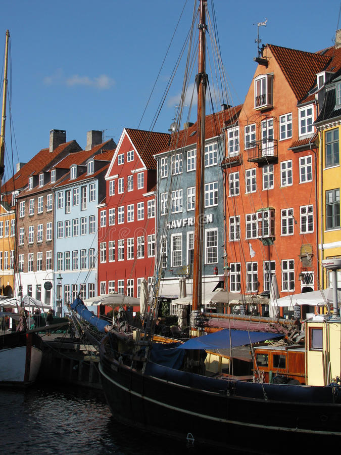 Edifici di Copenhaghen immagine stock