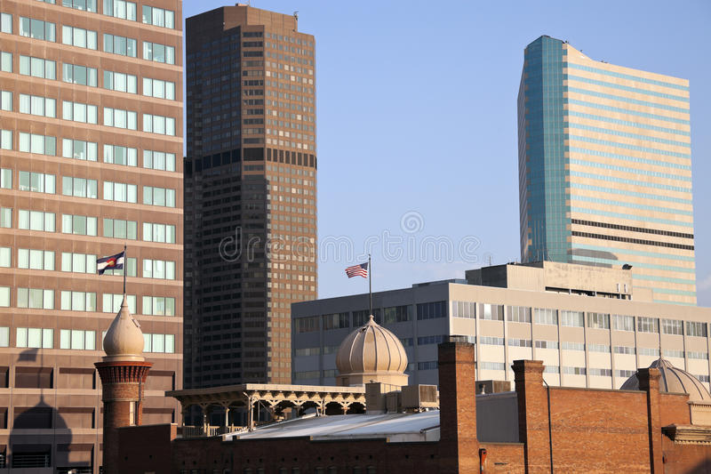 Edifici di Denver fotografia stock