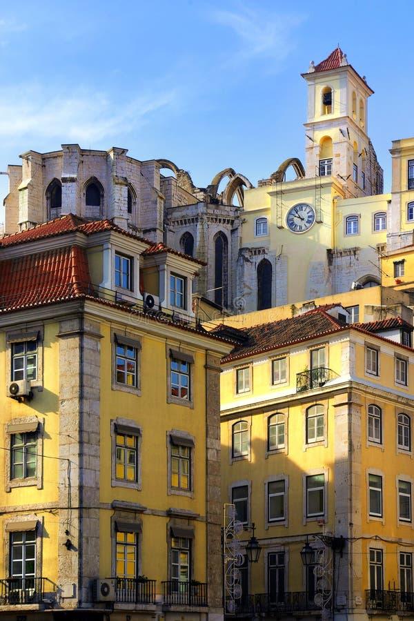 Edifici di Lisbona immagine stock libera da diritti