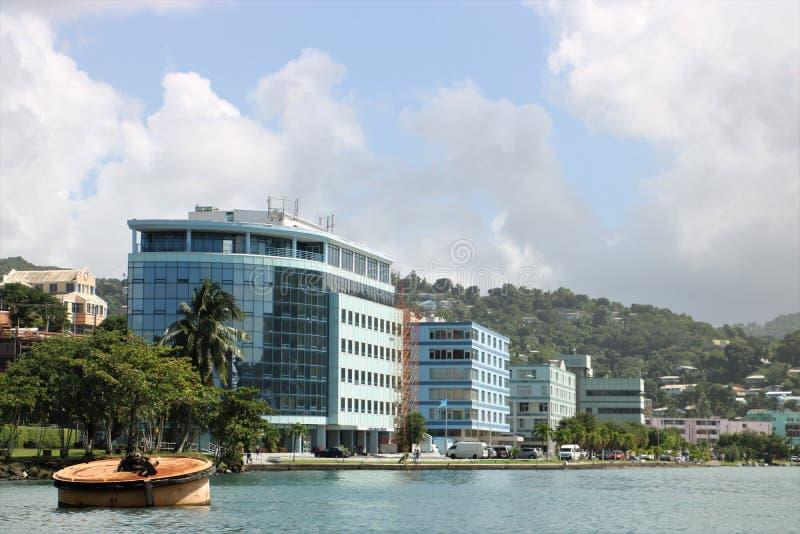 Edifici di Lucia Government del san immagine stock