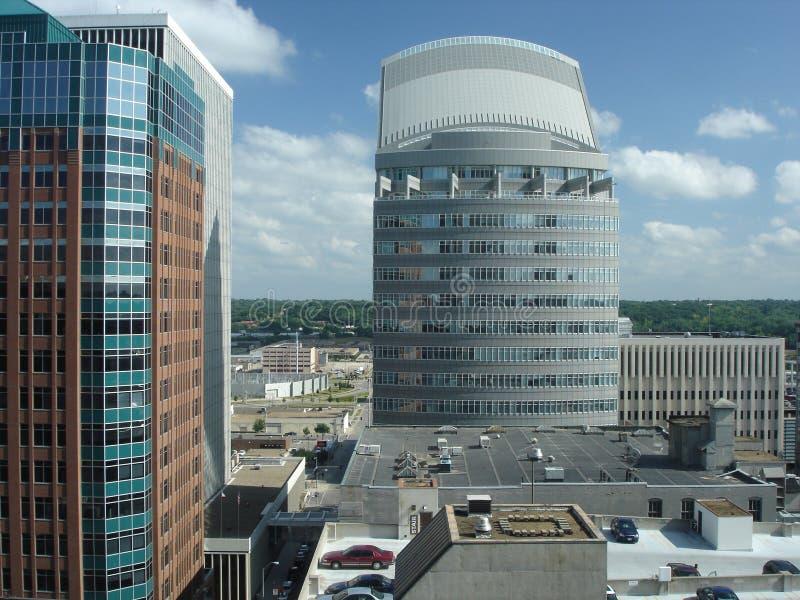 Edifici per uffici del grattacielo fotografia stock libera da diritti