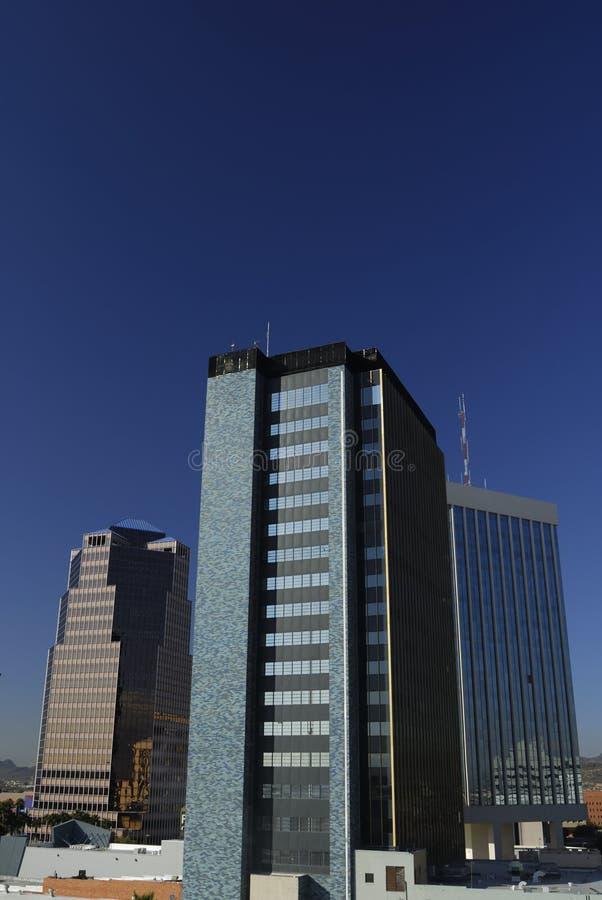 Edifici per uffici del Tucson immagine stock