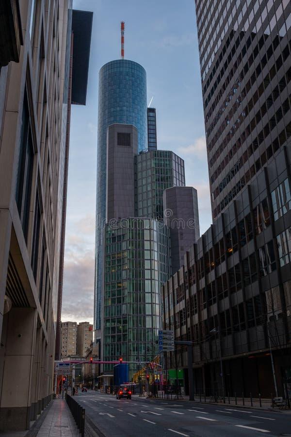 Edifici per uffici a Francoforte fotografie stock