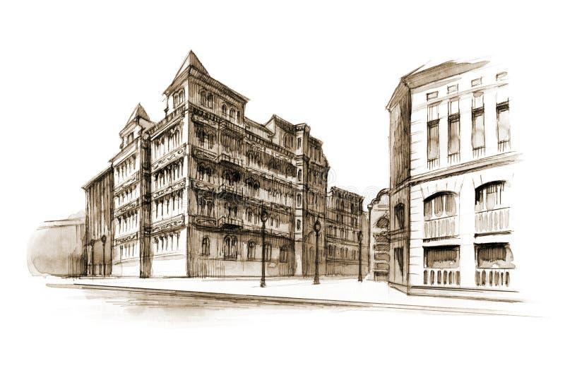 Edificio ilustración del vector