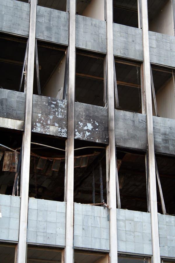 Edificio abandonado foto de archivo libre de regalías