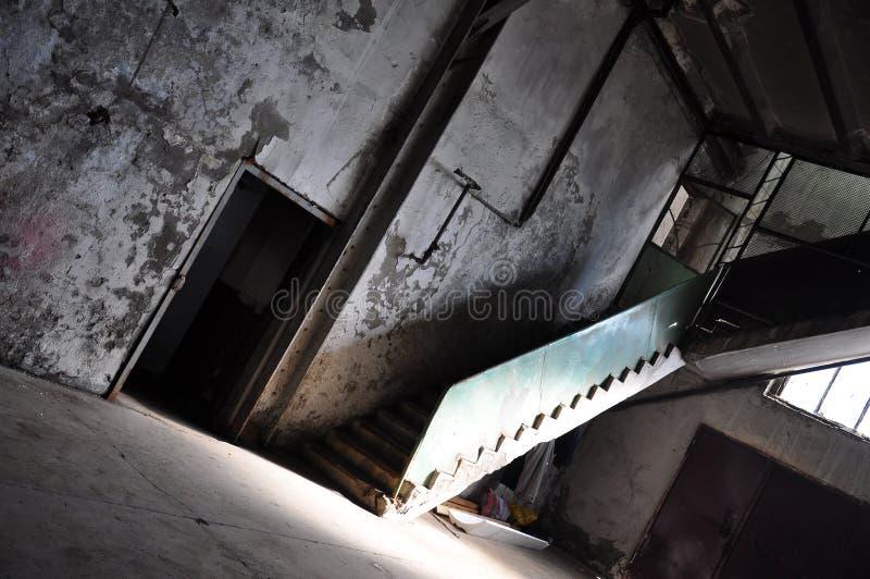 Edificio abandonado fotos de archivo