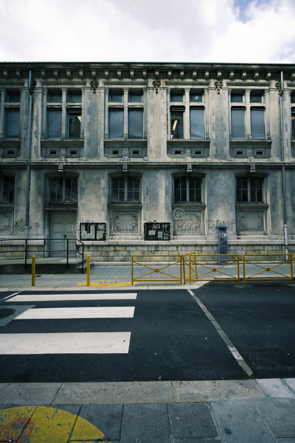 Edificio abandonado imagen de archivo