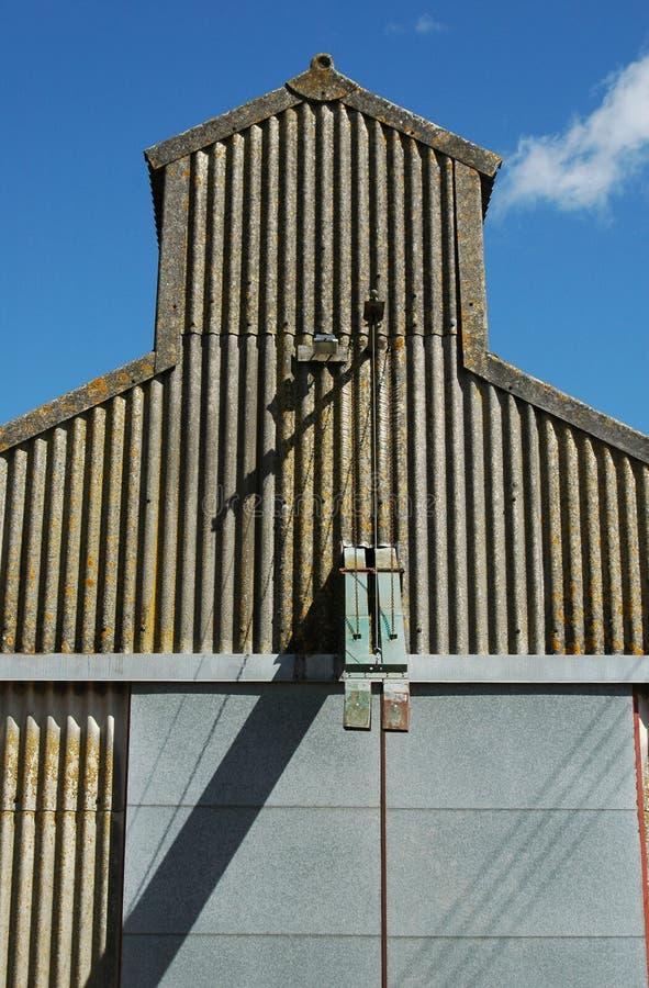 Edificio agrícola foto de archivo