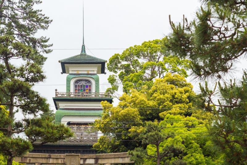 Edificio alrededor de la ciudad de Kanazawa fotografía de archivo