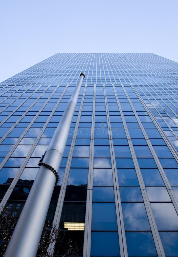 Edificio alto de New York City fotografía de archivo
