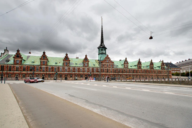 Edificio anterior de la bolsa de acción fotos de archivo libres de regalías
