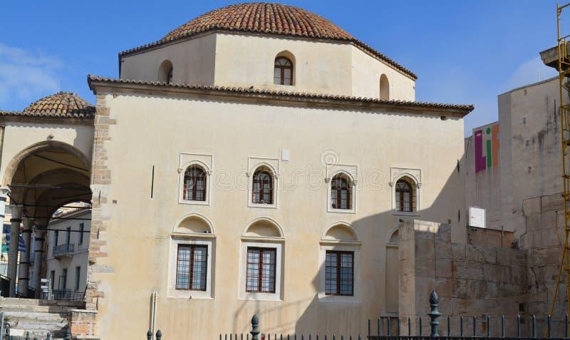 Edificio antiguo en Atenas - una del muchos preservados fotografía de archivo libre de regalías