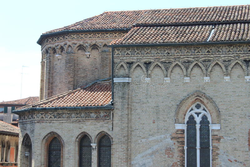 Edificio antiguo - Venecia foto de archivo libre de regalías