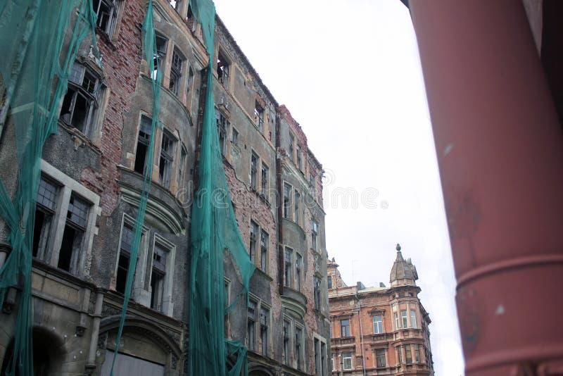 Edificio arruinado fotografía de archivo libre de regalías