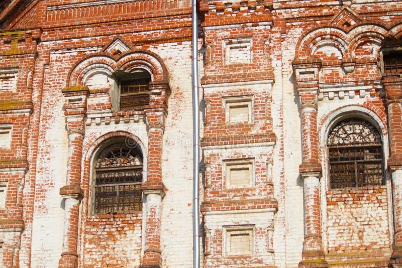 Edificio arruinado viejo fotos de archivo