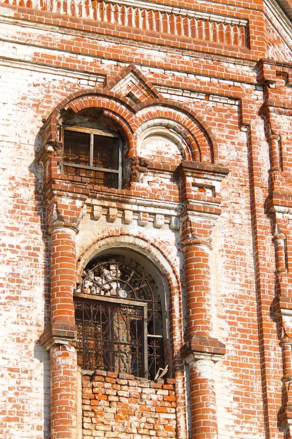 Edificio arruinado viejo foto de archivo libre de regalías