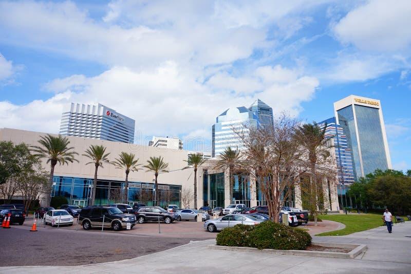 Edificio céntrico de Jacksonville fotografía de archivo libre de regalías