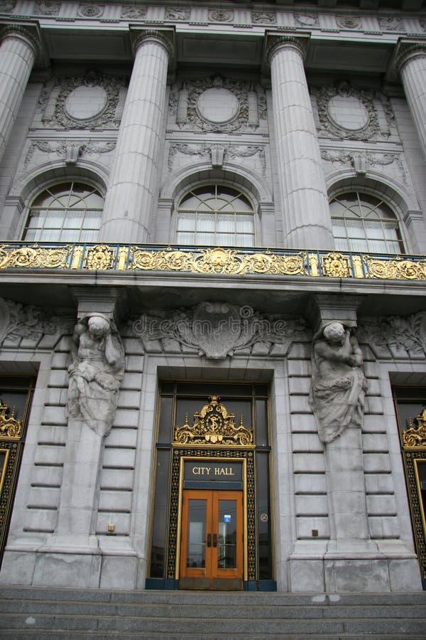 Edificio cívico - ayuntamiento foto de archivo