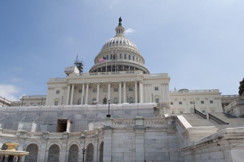 Edificio capital de Estados Unidos foto de archivo
