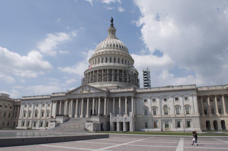 Edificio capital de Estados Unidos fotos de archivo