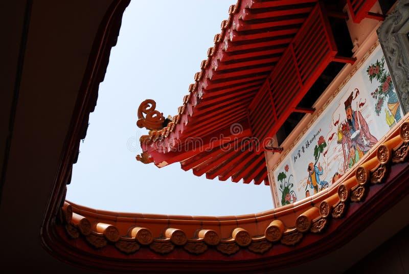 Edificio chino imágenes de archivo libres de regalías