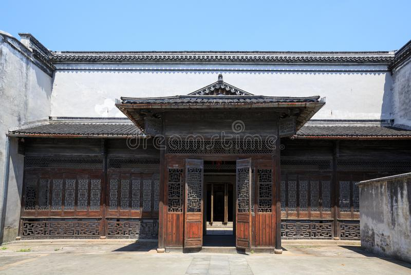 Edificio chino antiguo imagenes de archivo