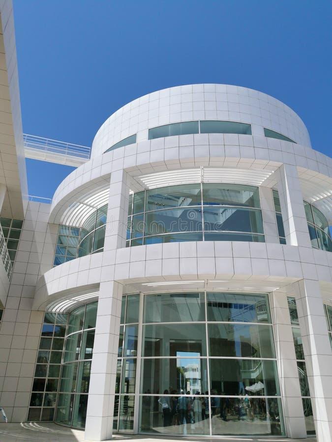 Edificio circular minimalista moderno/arquitectura imagenes de archivo