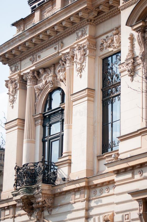 Edificio clásico de la arquitectura imagen de archivo libre de regalías