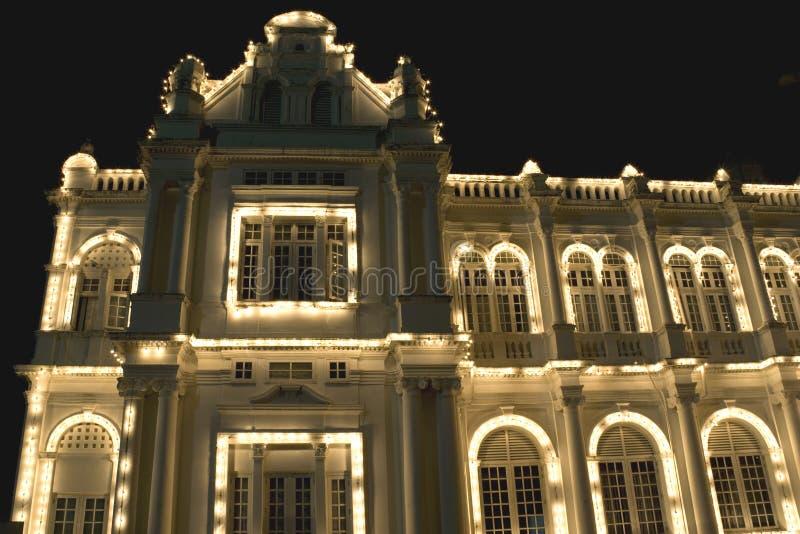 Download Edificio Colonial En La Noche Imagen de archivo - Imagen de ciudad, coto: 7282651