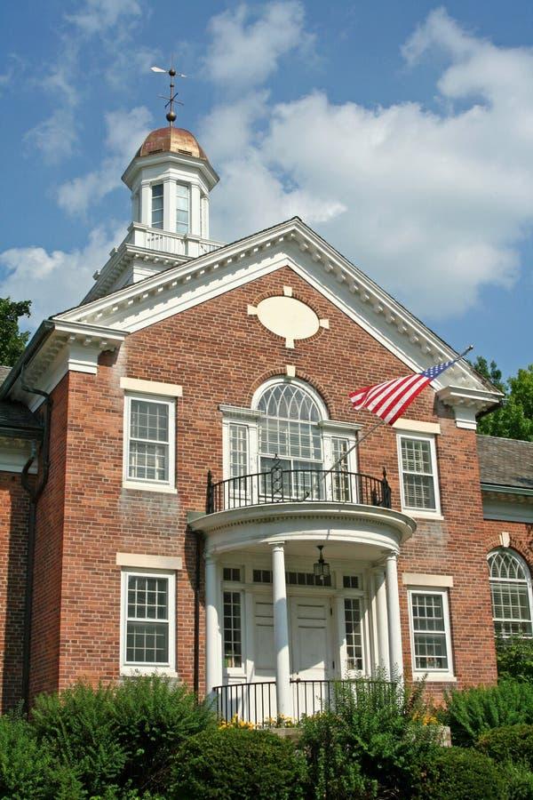 Download Edificio Coloniale Dell'America Fotografia Stock - Immagine di aletta, portico: 7318962