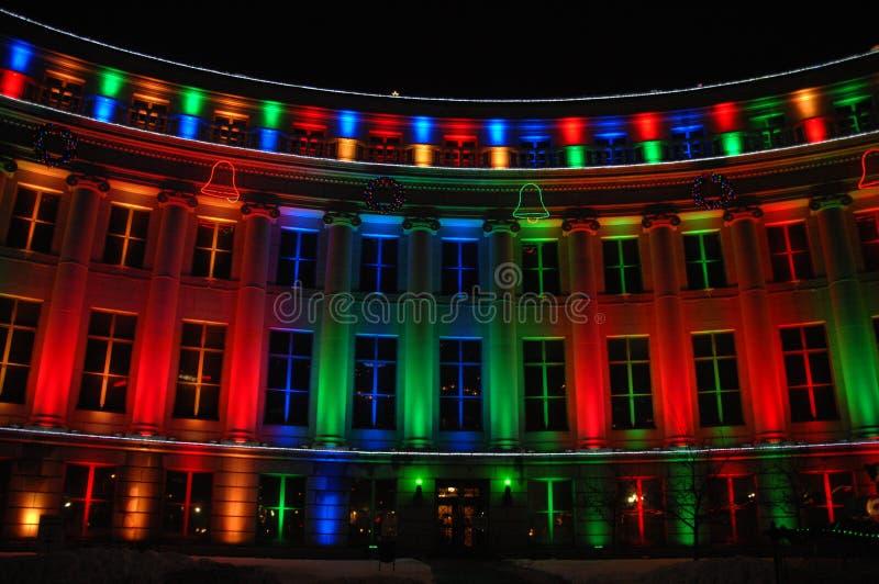 Edificio colorido 9 foto de archivo libre de regalías