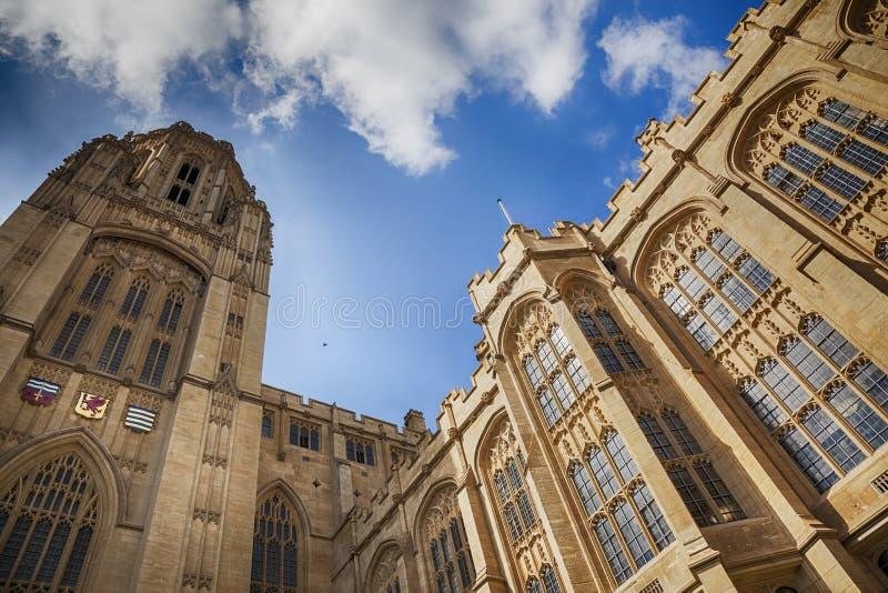 Edificio complejo de la universidad de Bristol fotos de archivo