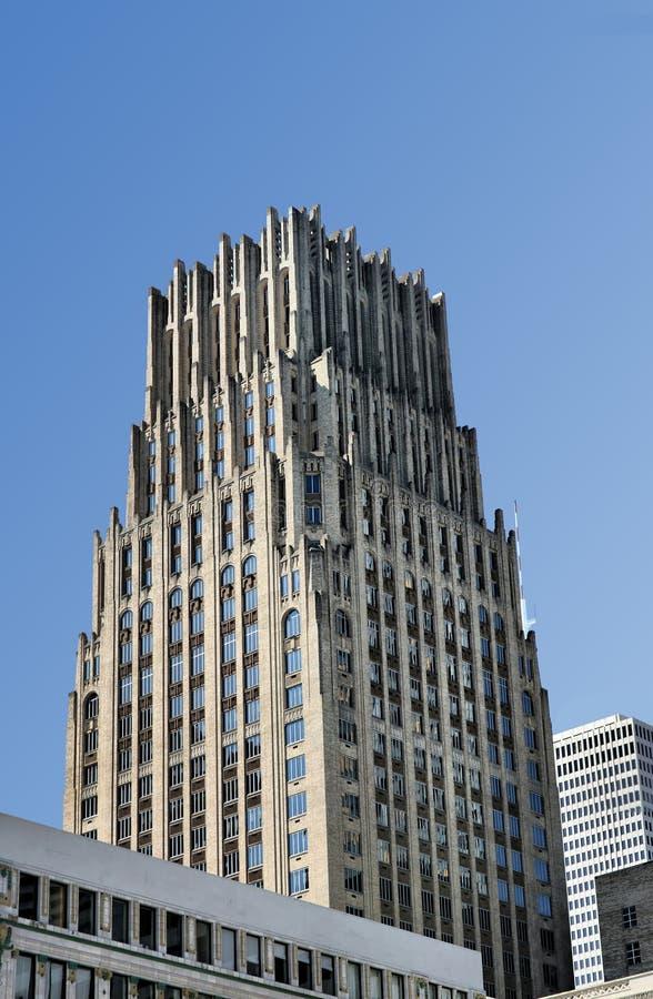 Edificio con gradas imagen de archivo