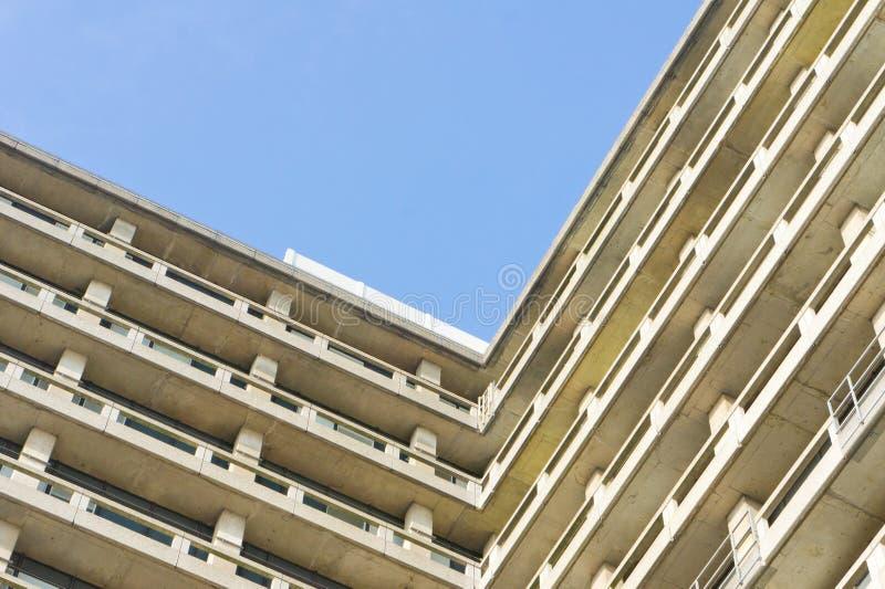 Edificio concreto fotografía de archivo